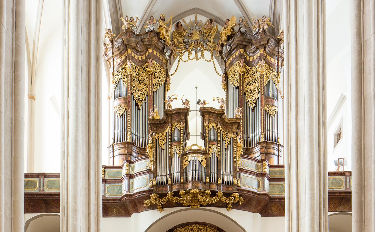 Orgelmesse mit Ikarus Kaiser (Stiftsorganist Stift Wilhering)