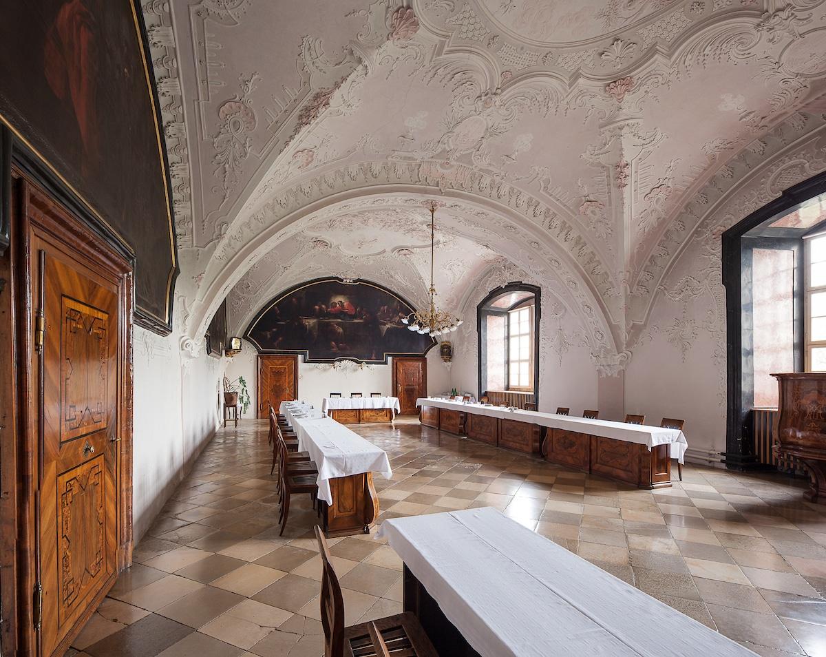 Herbstkonzert - feierliche Eröffnung des renovierten barocken Refektoriums
