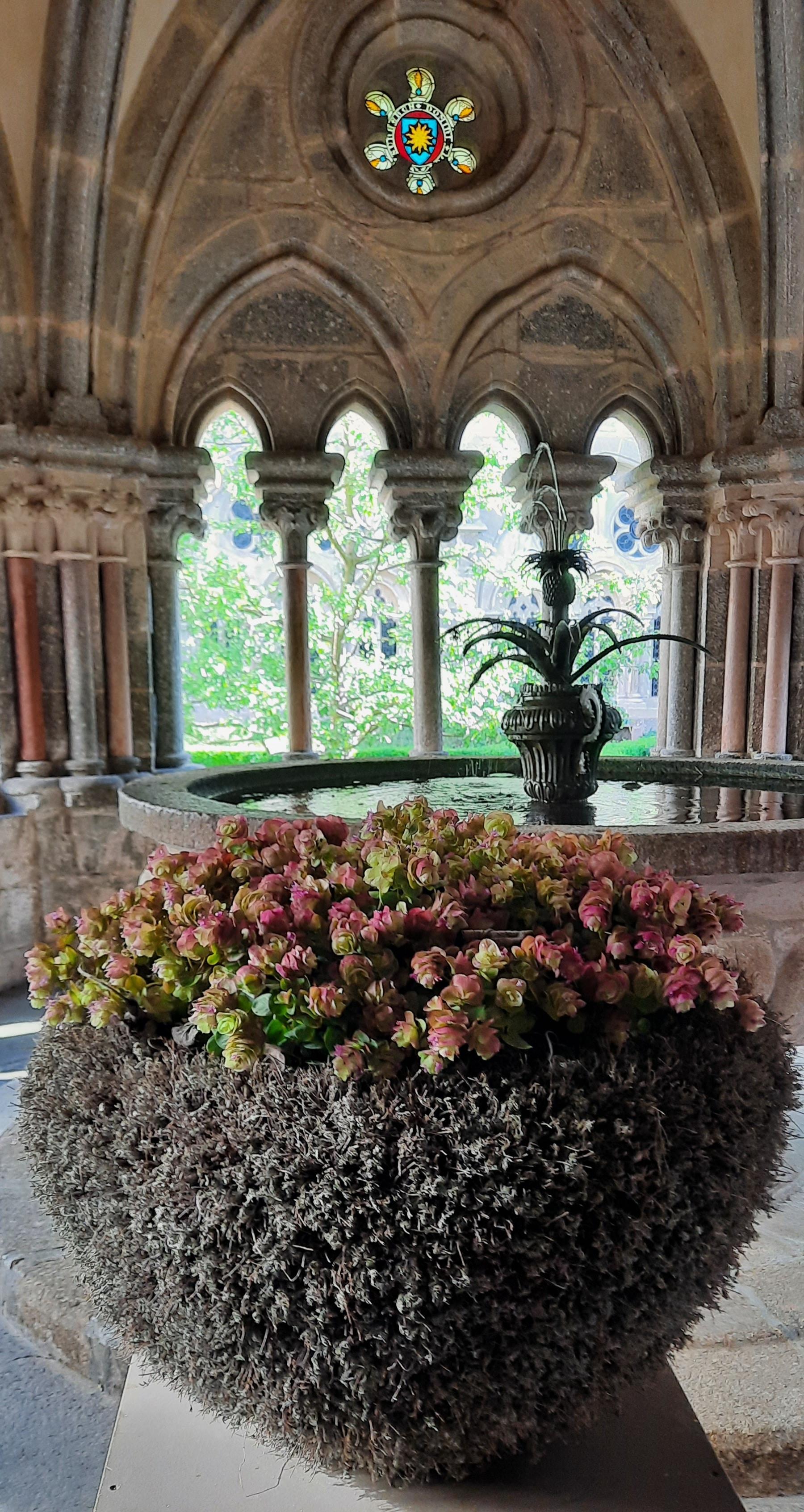 Ausstellung der Meisterarbeiten der Floristen