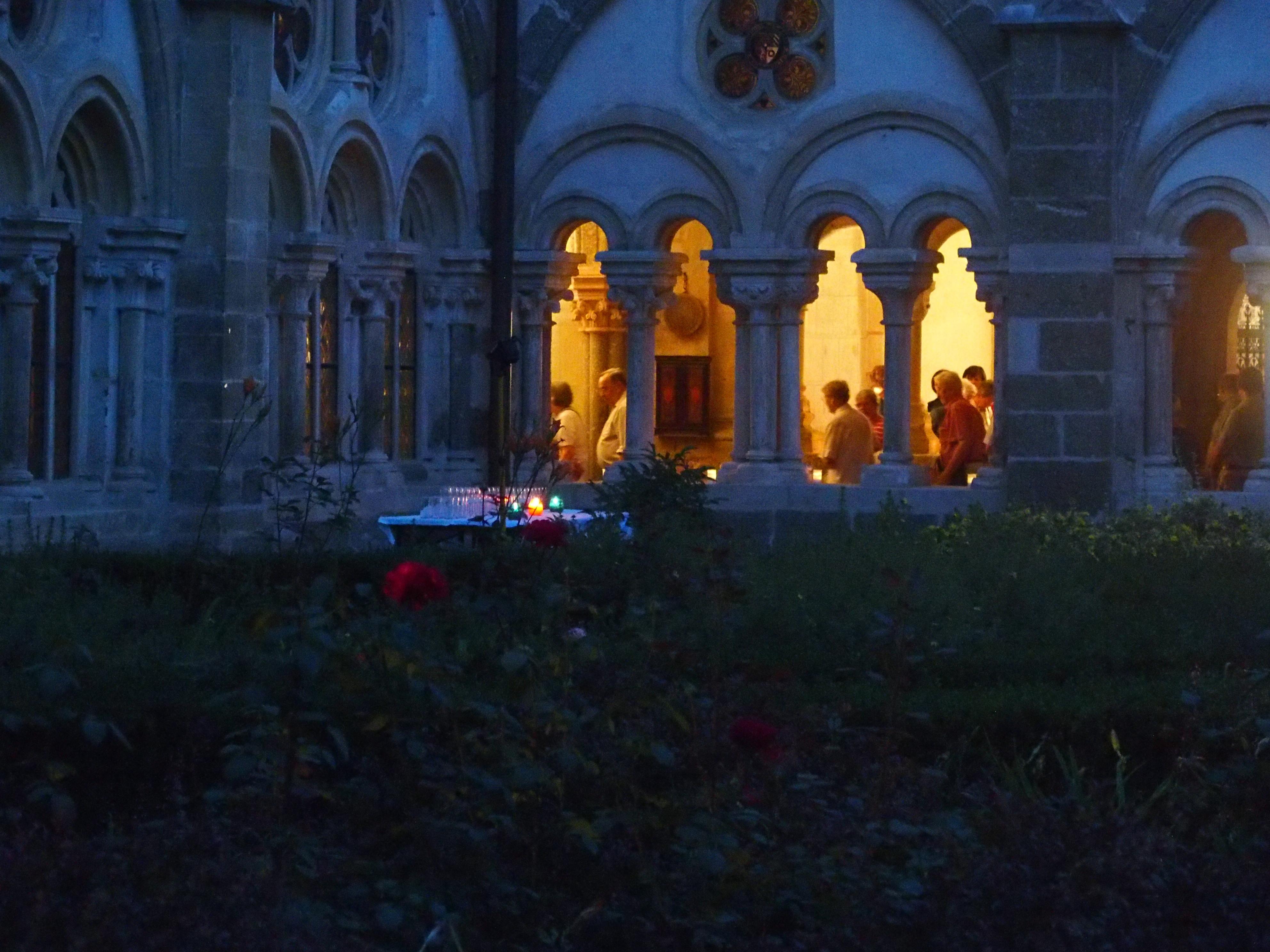 Gartensommer Vollmondnacht – gregorianischer Choral und Orgel